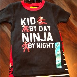 Carter's ninja pajama set